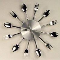 cutlery-clock